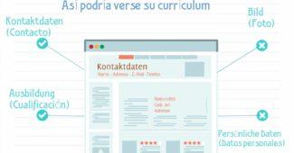 currículum en aleman